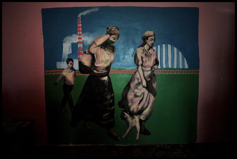 Paul Gents Mural - Plemetina