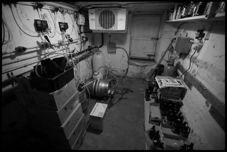 White Swan - the cellar