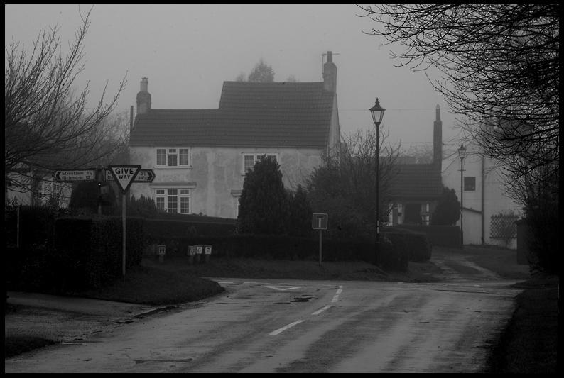 Danby Wiske - village crossroads at The Green