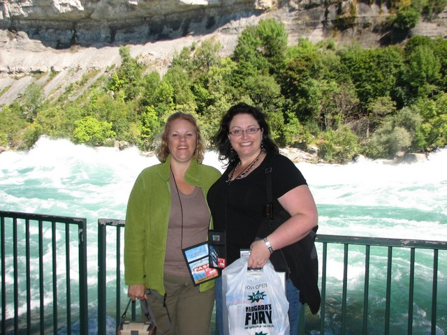 Kim & Pam at White Water Walk