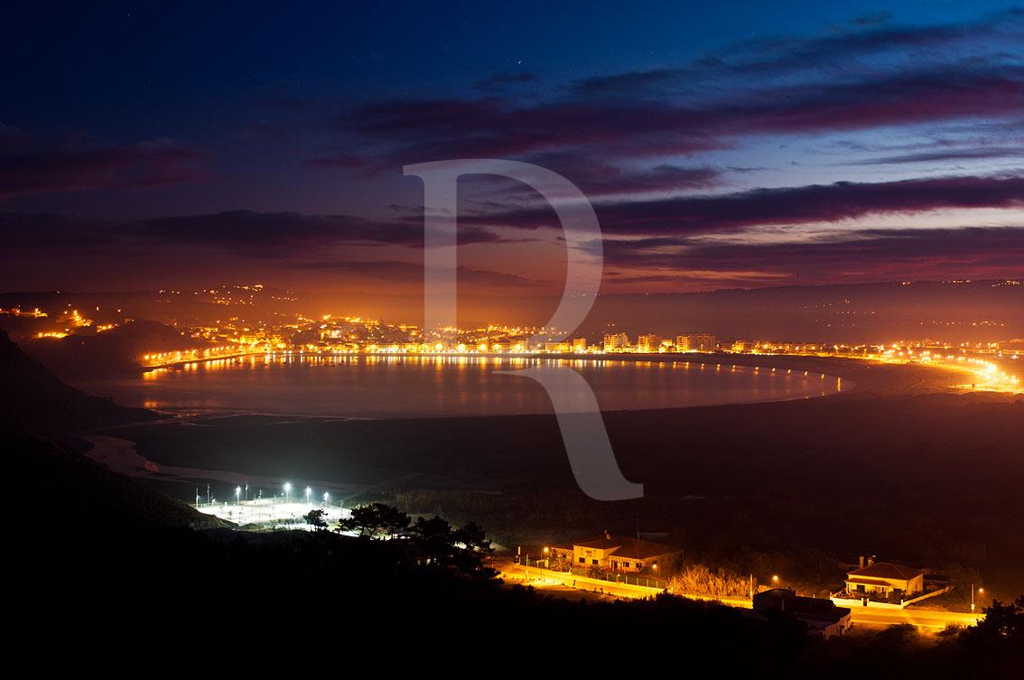 São Martinho do Porto em 7 de janeiro de 2012