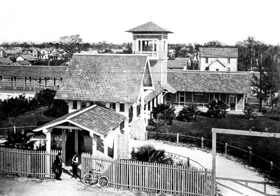 1920s - the Florida East Coast (FEC) railroad station in downtown Miami