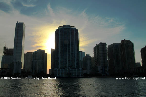2009 - Brickell Avenues high rise buildings in the late afternoon (#1651)
