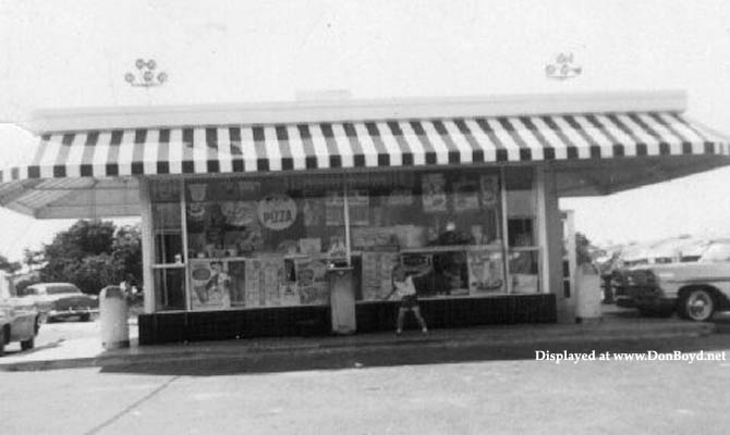 Late 1950s - the Dairy Queen at 4290 E. 4th Avenue, Hialeah, owned by Charles and Billie Bechter