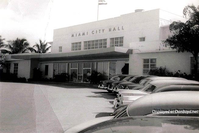 1956 - Miami City Hall at Dinner Key