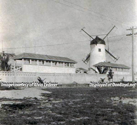 1920 - Alton Beach Windmill on Miami Beach