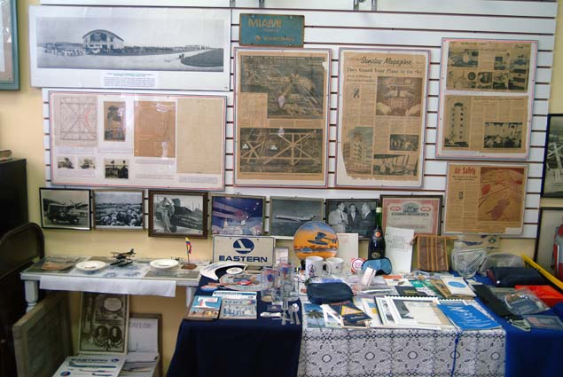 2008 - a display at the Miami Springs Historical Museum