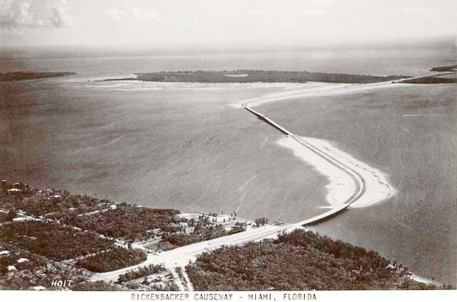 1947 - the new Rickenbacker Causeway
