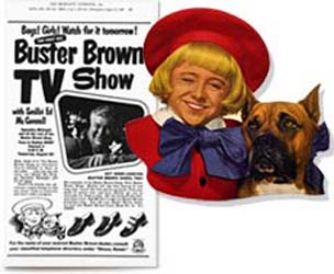 I M Buster Brown I Live In A Shoe