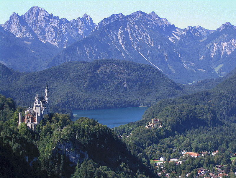 TWO CASTLES & THE ALPSEE