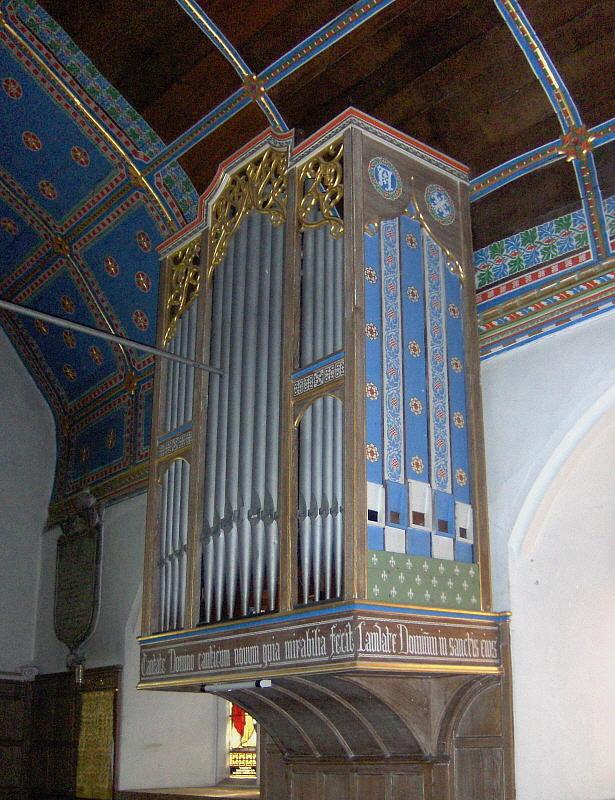 CHURCH ORGAN CASE