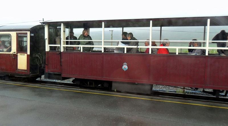 OPEN OBSERVATION TRAIN CARRIAGES