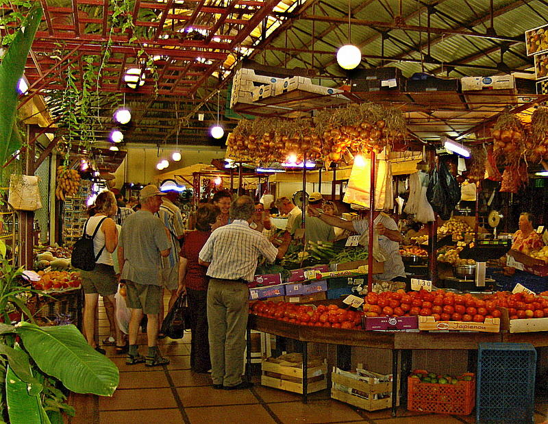 THE TOP GALLERY AT THE MARKET