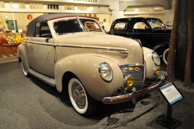 1939 Mercury Convertible Coupe from collection of Margie and Robert E. Petersen