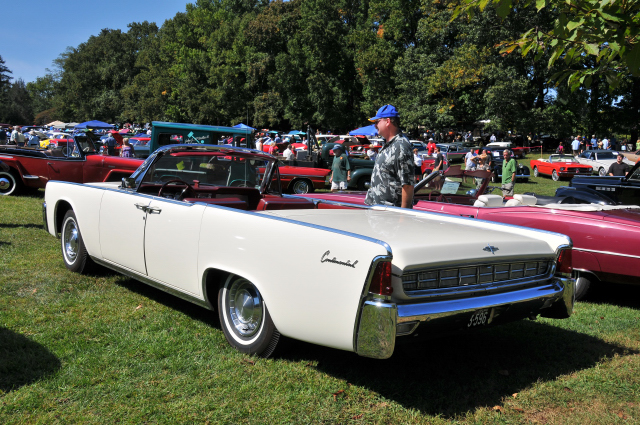 1963 Lincoln Continental four-door convertible