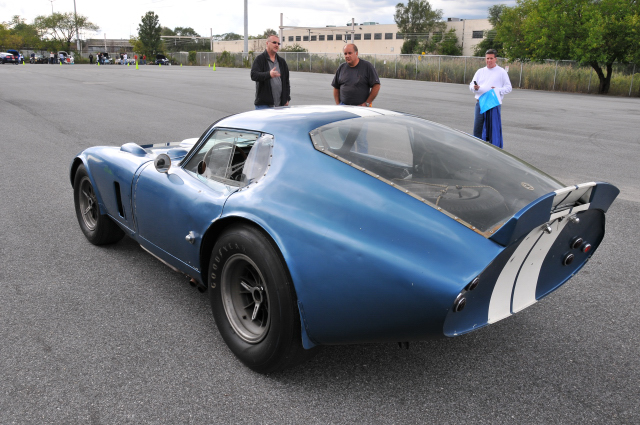 1964 Shelby Cobra Daytona Coupe ... helped win 1965 FIA Manufacturers Championship in endurance racing for Shelby & Ford (9840)
