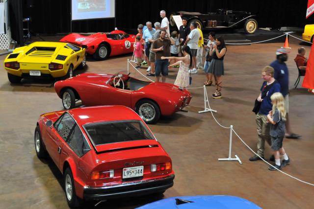 2012 Best of Italy car show, Simeone Automotive Museum, Philadelphia (4980)