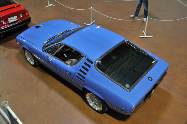1972 Alfa Romeo Montreal, designed by Bertone, owned by Peter Diamantes (4994)