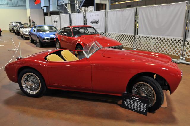 1952 Siata 300BC, owned by Mark Bean & James Utaski (5059)