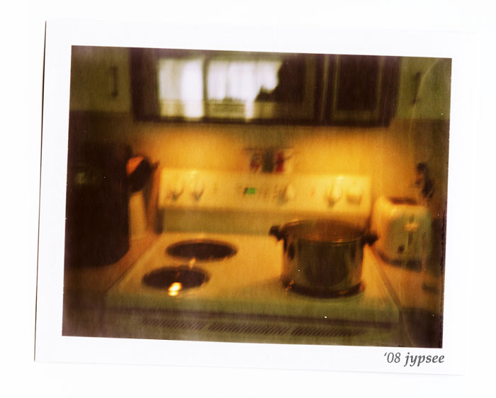 fuzzy kitchen
