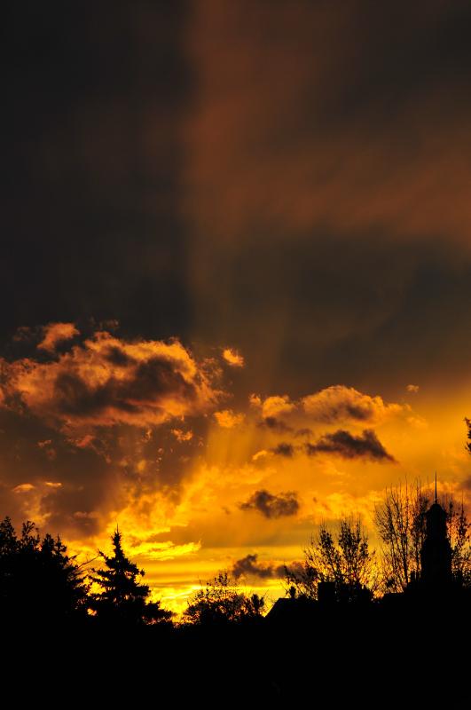 Mimico Creek Sunset