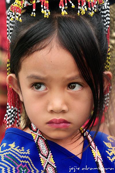 Tboli child