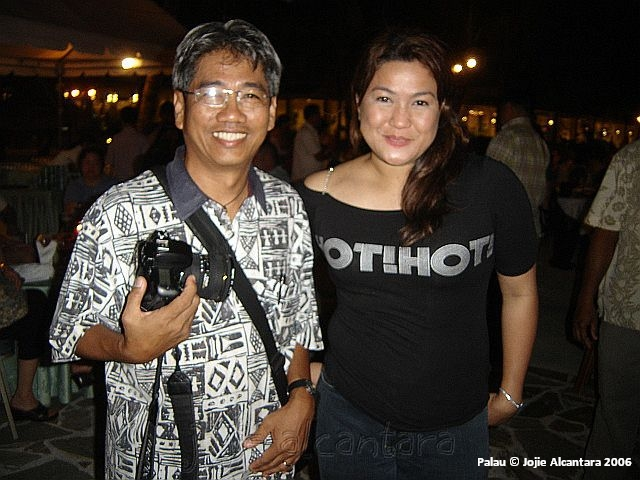 Me and photographer George Tapan
