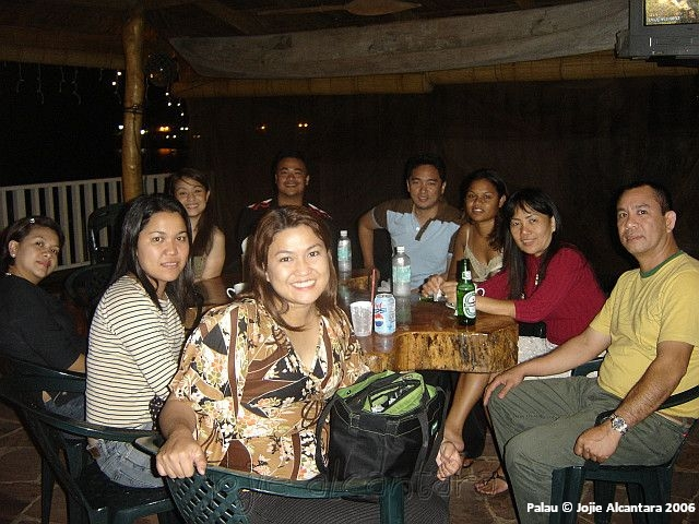 Pinoys in a bar