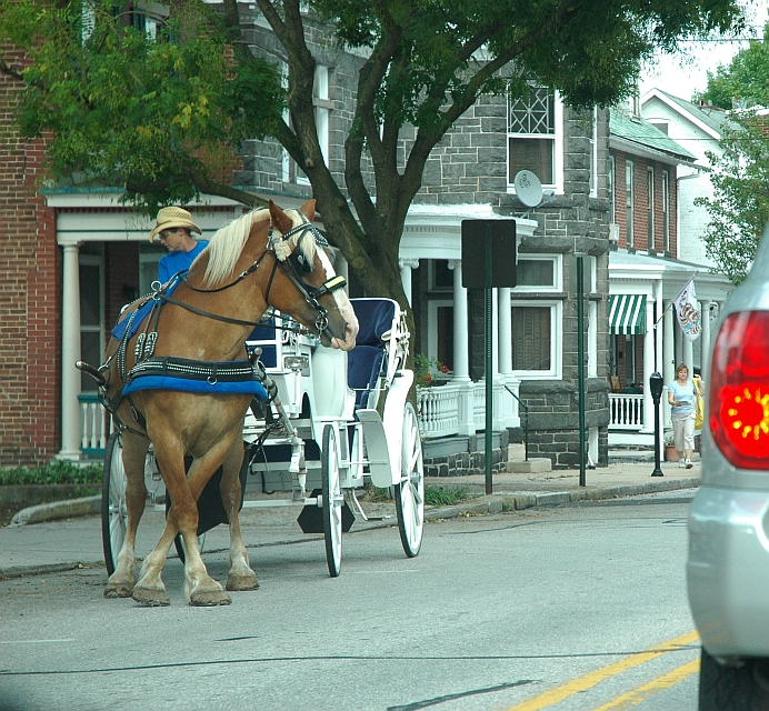 parallel carriage parking in gettysburg (1 of 3)