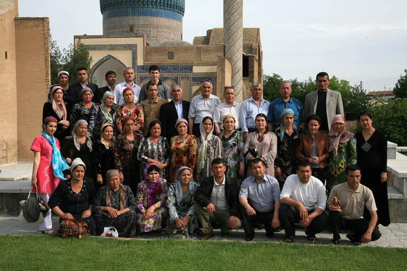 Tourist Group Photo