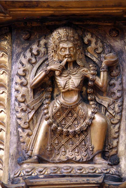 Kali on Golden Gate Durbar Square Bhaktapur