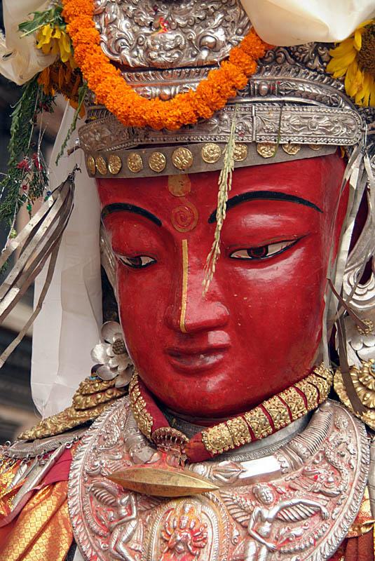 Effigy at Pancha Dan Bhaktapur
