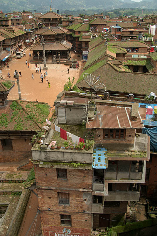 Across to Dattatreya Square Bhaktapur