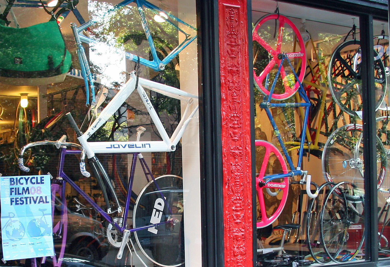 Bicycle Shop near Stanton Street