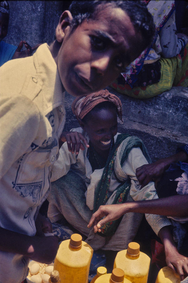 Somalia, The camel milk woman
