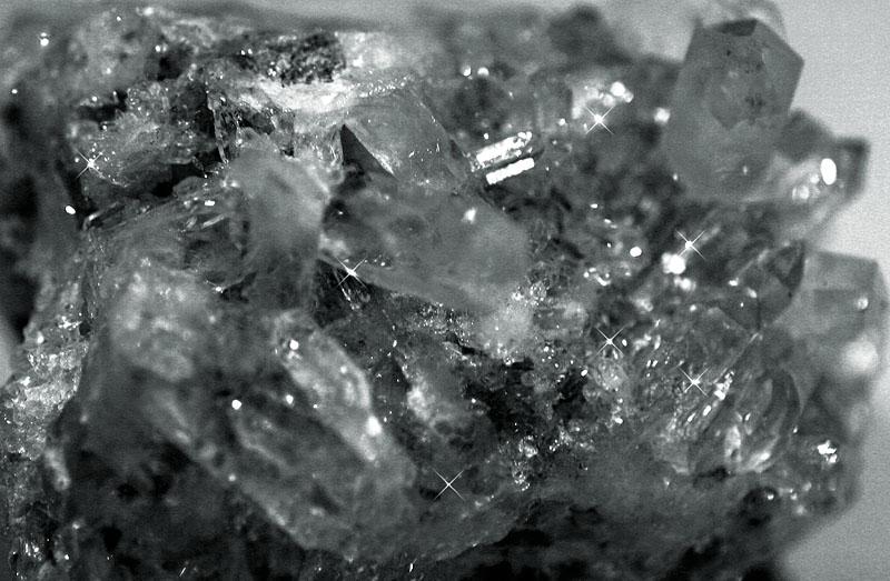 Q is for Quartz crystal
