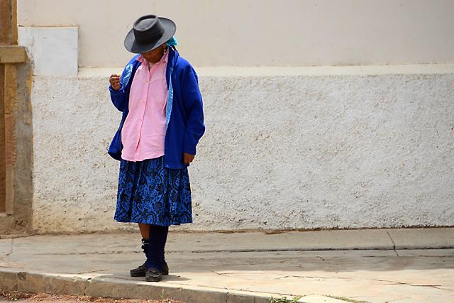 Elder Citizen in Samaipata