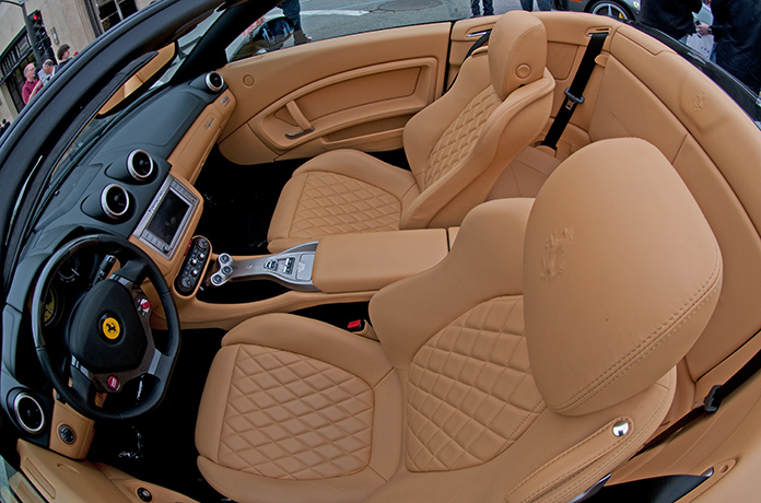 2011 Ferrari California leathers