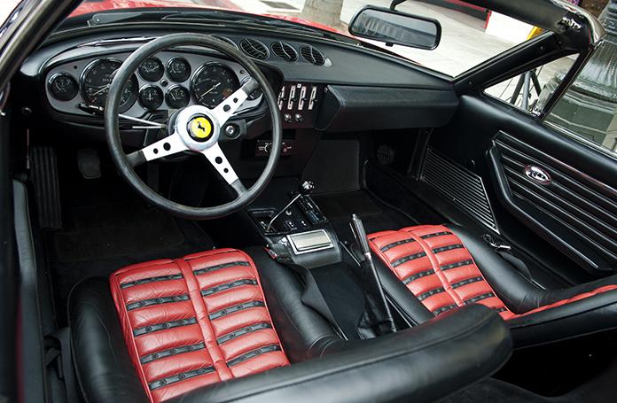 Interior 1971 Ferrari 365 GTB/4 Daytona Spider