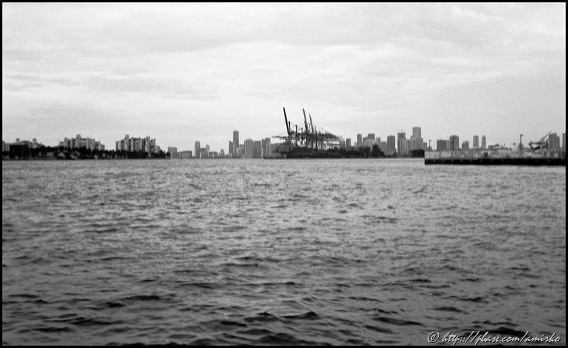 Miami Beach with Kodak Vest Pocket Autographic