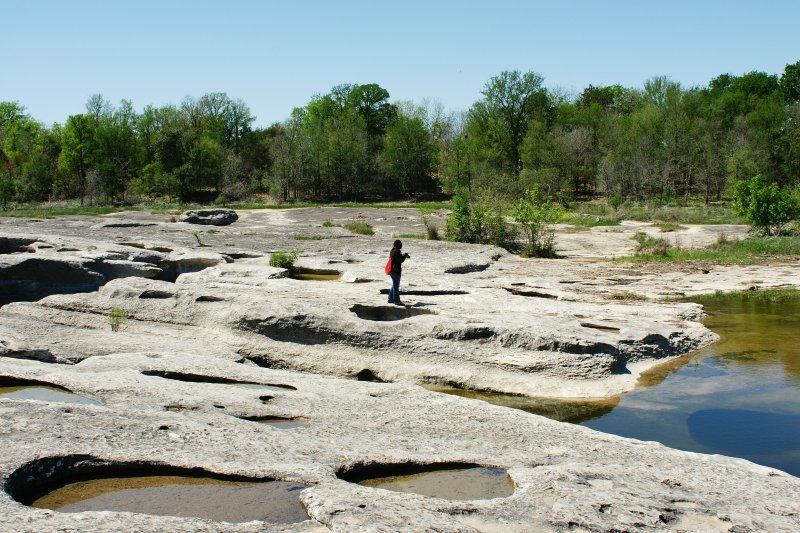 Volcanic Features at McKinney Falls