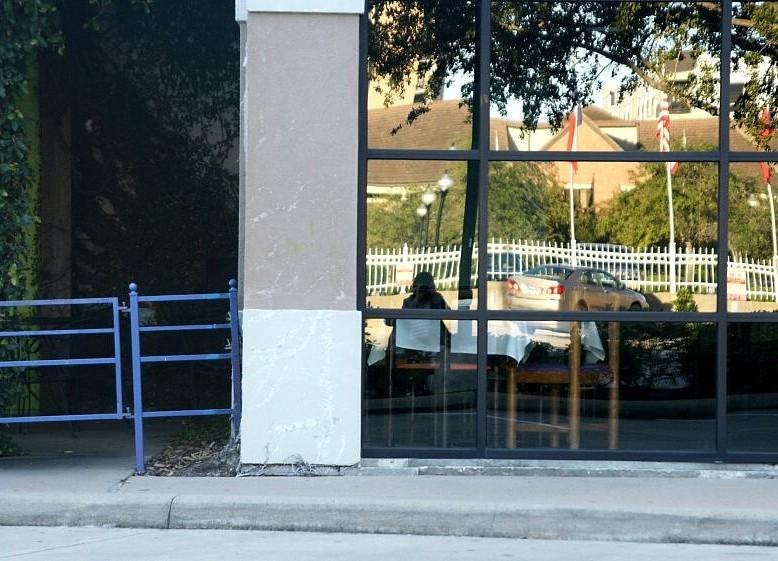 Outside of the Mexican Restaurant