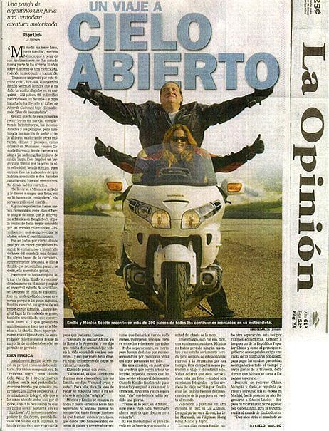 Emilio Scotto News Paper LA OPINION