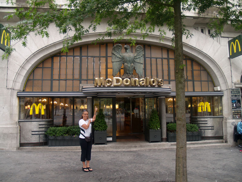 Fanciest MC Donalds in the World