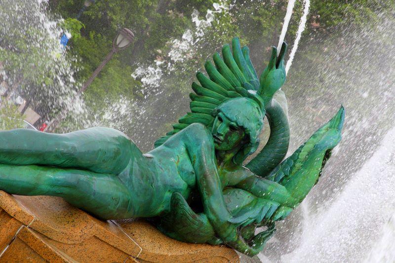 Swann Memorial Fountain - Alexander Stirling Calder