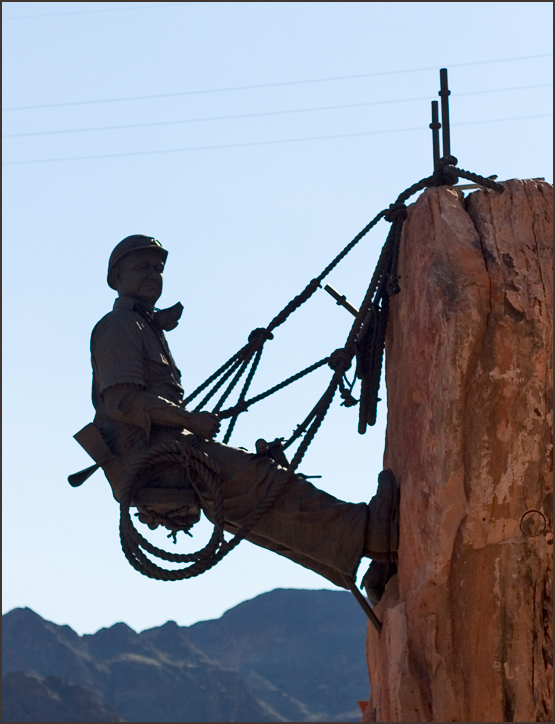 High Scaler Sculpture - Hoover Dam