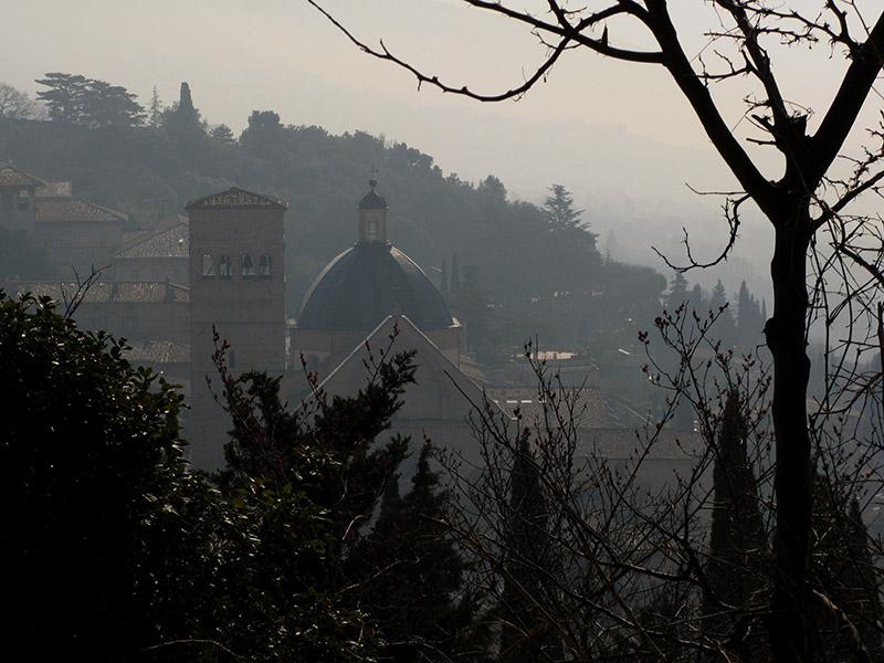 View of San Rufino from the Rocca Maggiore .. A4035