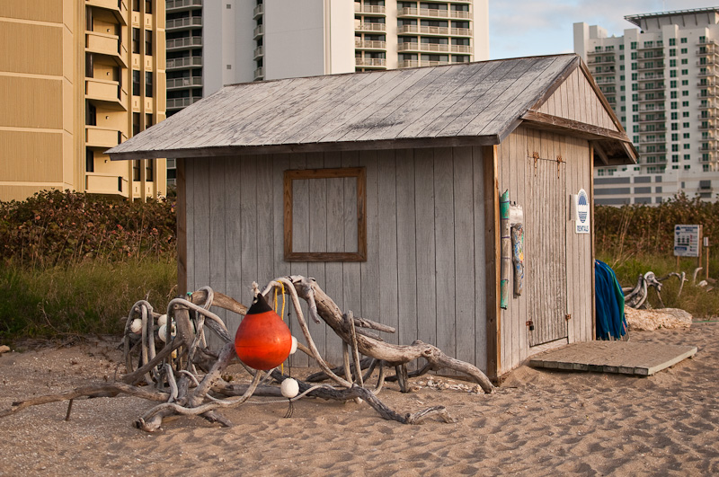 Beach shed