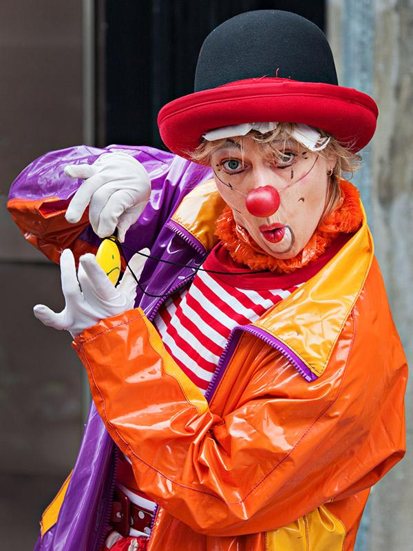 Same Circus, Different Clown