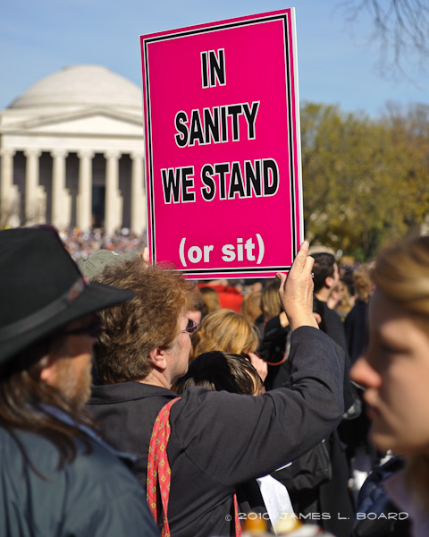 IN SANITY WE STAND